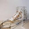 Mickael Delalande铁丝雕塑