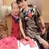 赌王何鸿燊93岁大寿四姨太宴会献吻